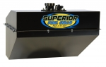 "22 GAL DIRT LATE MODEL / DIRT MODIFIED RACE FUEL CELL - 23.5"" WIDE - TOP FUEL PICK-UP"